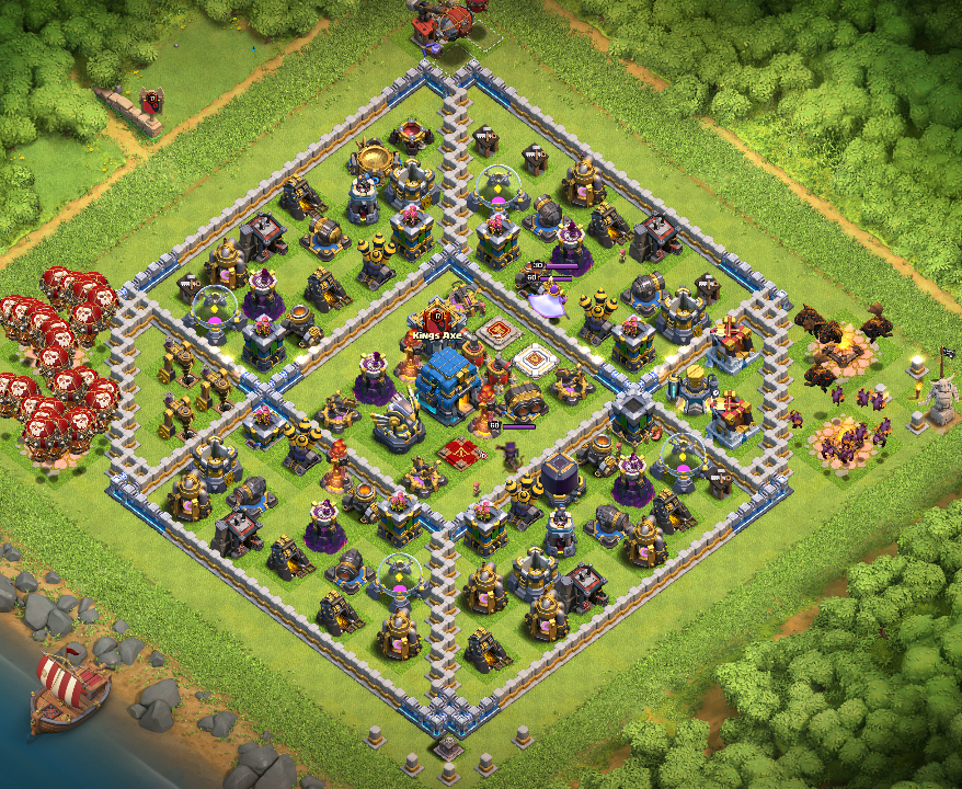 Clash of Clans: Town Hall 12/TH12 Trophy Pushing