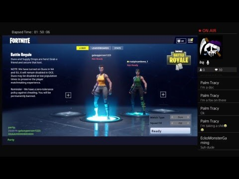 Friend Request on Fortnite for PS4