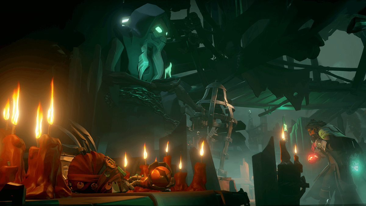 Ritual Skull in Sea of Thieves
