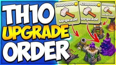 Clash Of Clans TH10 Upgrade Order