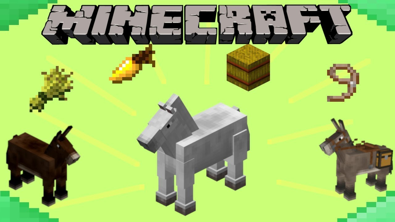 Breed Horses in Minecraft