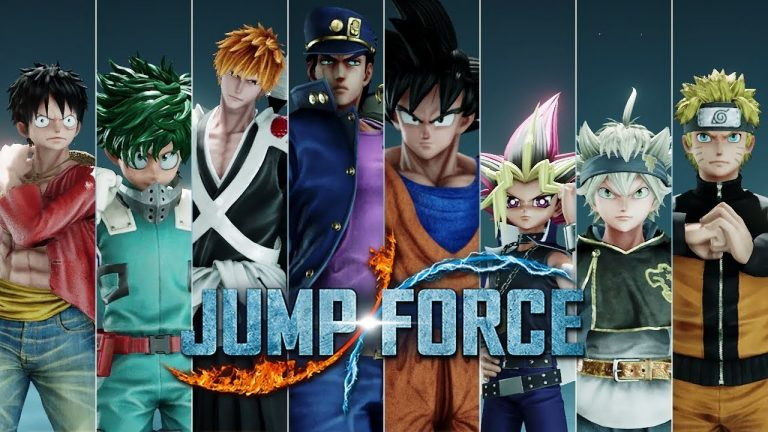 Switch Characters in Jump Force